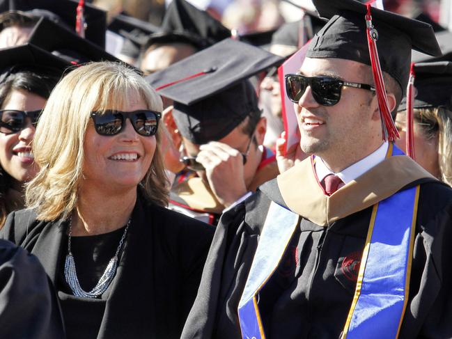 Mum receives surprise honorary degree