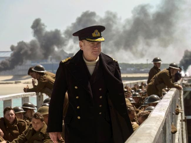 Kenneth Branagh in a scene from Dunkirk, which has become one of the year's biggest movies.
