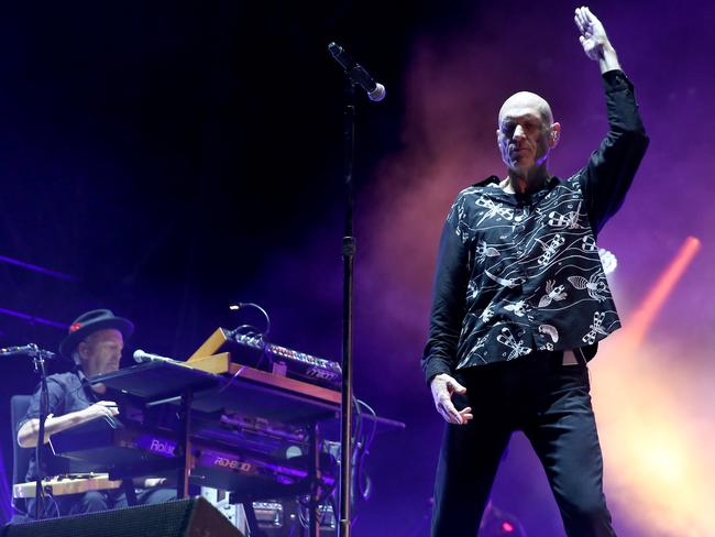 It was the first time Midnight Oil have performed in Sydney in more than a decade. Picture: Damian Shaw