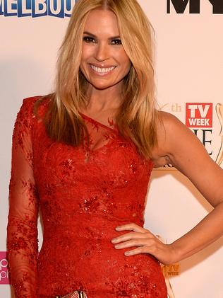 ...later dazzling as the Mornings co-host for Channel 9 at the 2014 Logies.