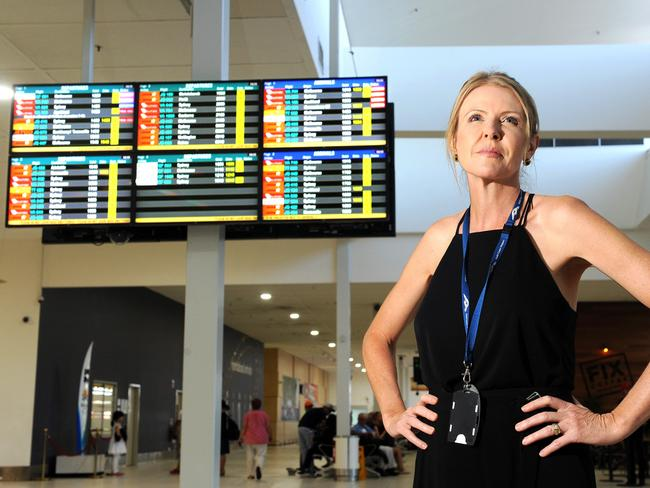Gold Coast Airport CEO Marion Charlton said the idea to only allow passengers in airports was not popular. Picture: John Gass