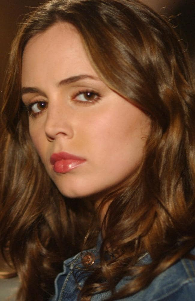 Eliza Dushku in Buffy The Vampire Slayer in 2003, nine years after the alleged assault. Picture: Supplied