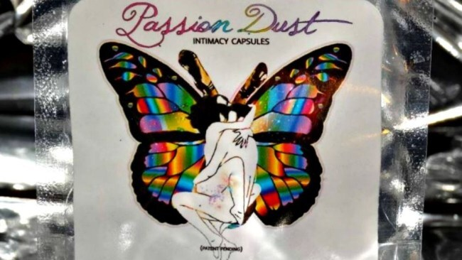 Photo: Passion Dust Intimacy Capsules.