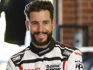 Rick Kelly of the Nissan Motorsport fastest during the Virgin Australia Supercars Championship Test Day, at the Sydney Motorsport Park, Sydney, New South Wales, February 21, 2017. Picture: Mark Horsburgh