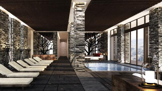 The resort spa. Picture: Supplied