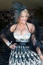 Brynne Edelsten in the Westpac marquee. Picture: Andrew Ashton.
