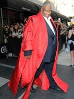 """Andre Leon Talley arrives ahead of the Met Gala 2015 """"China: Through The Looking Glass"""". Picture: Getty"""