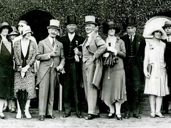 The Royal Easter Show opening ceremony in 1928.