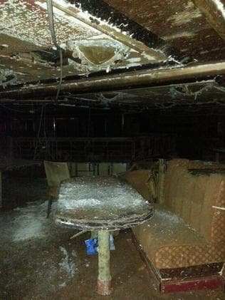 Eerie: first pictures of the interiors of cruise ship Costa Concordia since the 2012 accident. Picture: Massimo Sestini