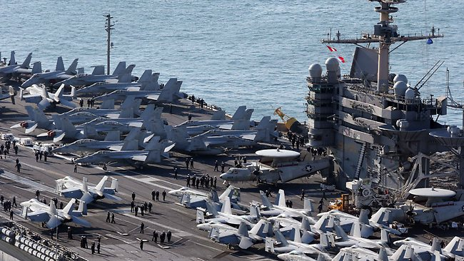 The Pentagon has confirmed that the nuclear powered aircraft carrier USS George Washington will be going to the Philippines.