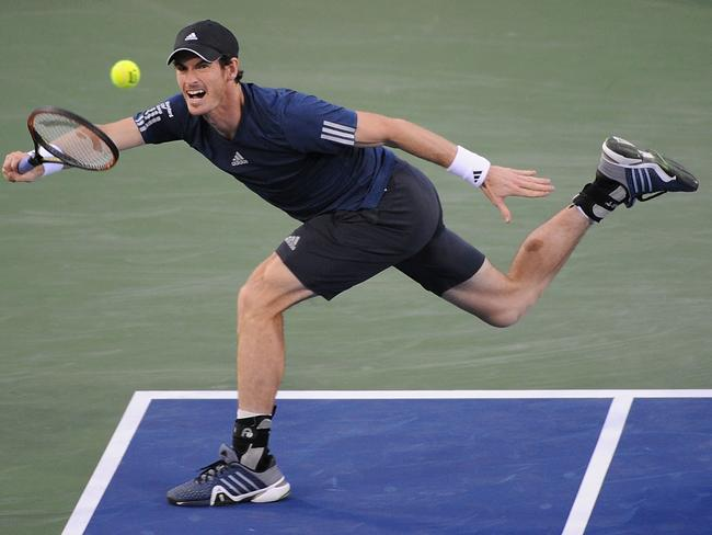 Andy Murray says he wouldn't mind playing with crowd noise, so long as it was constant.