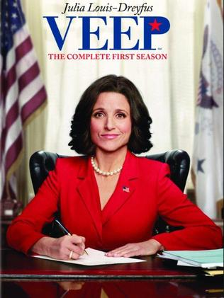 Julia Louis Dreyfus as VEEP, Selina Meyer.
