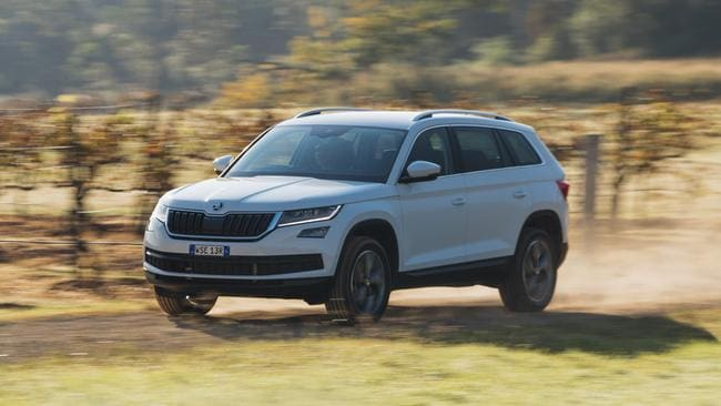 Kodiaq: On-road dynamics are well-sorted — there are six driving modes.