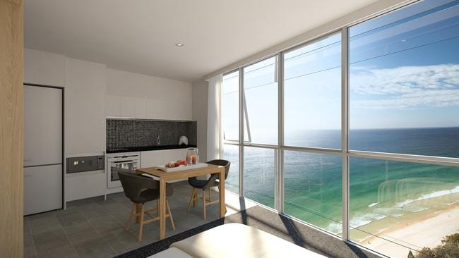 Artist's impression of the Rhapsody development at Surfers Paradise.