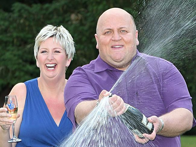 "After winning the lotto, Gillian and Adrian broke up, claiming it was ""stressful""."