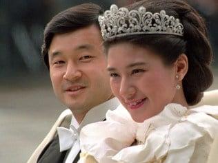 Newlywed Crown Prince Naruhito and Crown Princess Masako on their wedding day. Photo: File