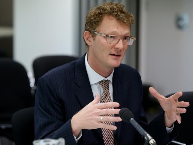 Joel Gibson, Campaign Director of One Big Switch. Picture: News Corp