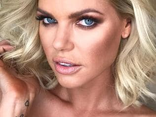 """Sophie Monk ... """"Big and Textured introducing our new #bachelorette @sophiemonk Congratulations!ALWAYS a laugh with you! Makeup @chantellebaker Hair by me @uvasalon @elevenaustralia #logies2017"""" Picture: @marieuva/Instagram"""