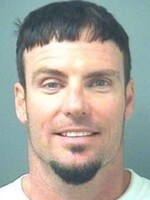 Vanilla Ice, whose real name is Robert Van Winkle, poses for his mug shot at the Palm Beach County Sheriff's Office April 10, 2008 in Palm Beach, Florida. Vanilla Ice was arrested for allegedly assaulting his wife. (Photo by Palm Beach County Sheriff's Office via Getty Images)
