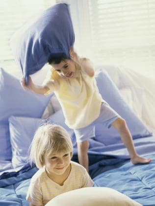 Keep your children off the furniture and under control. Picture: Thinkstock.