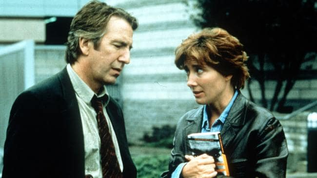 With Rickman again in the 2000 offering Judas Kiss.