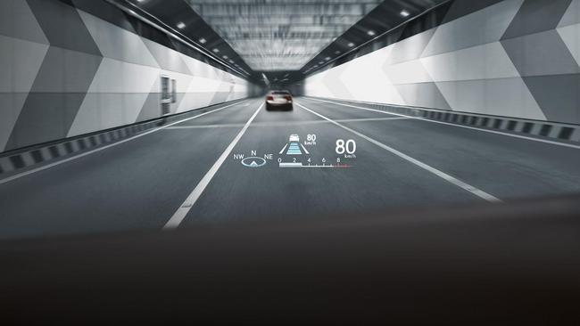 The Head-Up Display is the best feature of the entire car.