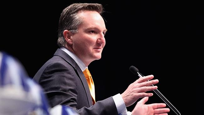 Interim Labor leader Chris Bowen says the Labor leadership contest has been civil and respectful. Photo by Robert Prezioso/Getty Images