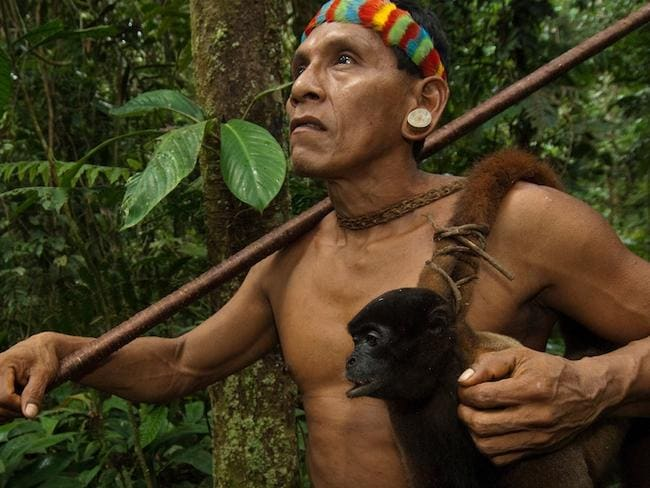 Incredible images of forgotten tribe