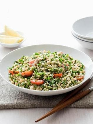 Quinoa & Wheat Berry Tabouleh. Picture: Supplied