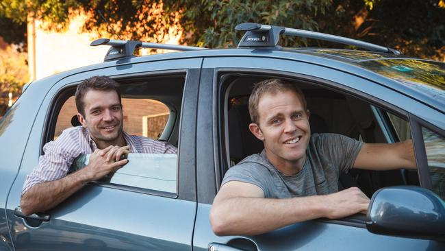 Car Next Door founders Dave Trumbull (left) and Will Davies.