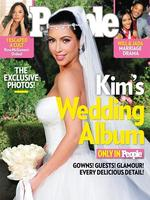 On the set of Keeping Up With The Kardashians: Kim Kardashian married NBA player Kris Humphries in front of a worldwide audience of E! hit show, Keeping Up With The Kardashians. Just 72 days later Kardashian filed for divorce. She is now engaged to rapper Kanye West with whom she has a daughter, North. Picture: Supplied