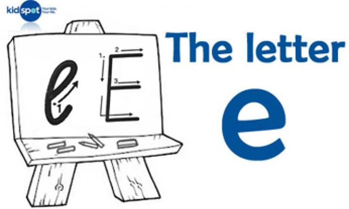 Handwriting: The letter e