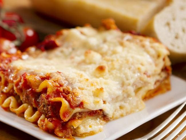 A woman wants $50k from the restaurant that cooked her lasagne.