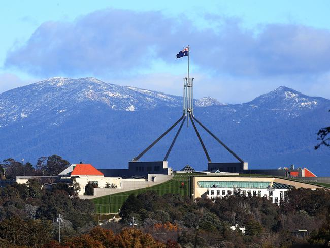 OK, so Canberra does look pretty good on a winter morning. That mountain is Tidbinbilla Mountain, by the way, and it's about 1600m above sea level. Surprisingly few Canberrans know that. Pic by Gary Ramage.