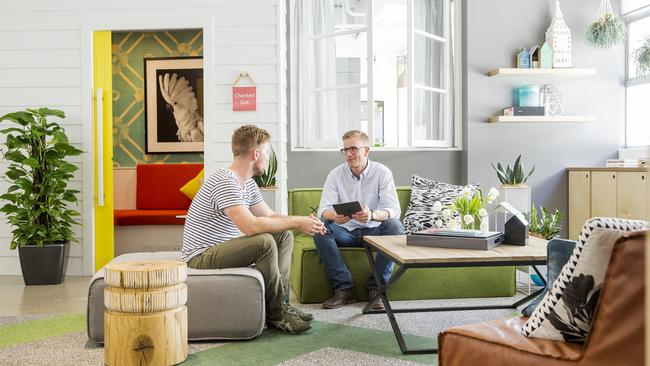 channelling the home office airbnbs new sydney headquarters feels more home than office picture james horan airbnb sydney office