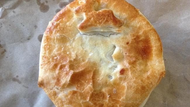 Venison pot pie at The Red Mill Bakehouse. Picture: Simon Wilkinson