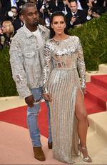 "Kanye West (L) and Kim Kardashian West attend the ""Manus x Machina: Fashion In An Age Of Technology"" Costume Institute Gala at Metropolitan Museum of Art on May 2, 2016 in New York City. Picture: Dimitrios Kambouris/Getty Images/AFP"