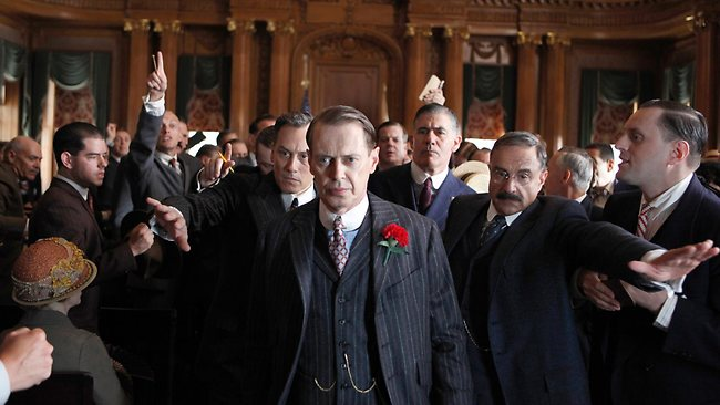 "Steve Buscemi in a scene from ""Boardwalk Empire"""