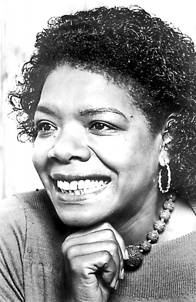 Author and playwright Maya Angelou.