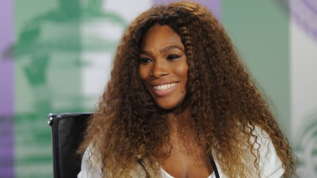 Serena Williams has apologised to Maria Sharapova after the two got into a war of words after Williams' controversial comments in Rolling Stone magazine. Picture: AFP