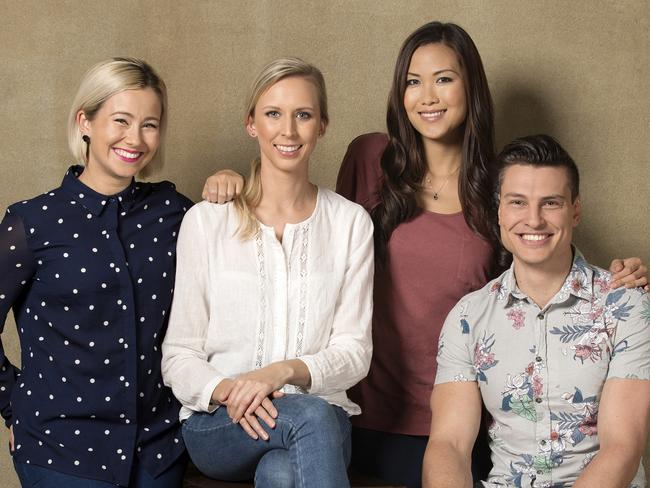 MasterChef Top 4 - Tamara Graffen, Karlie Verkerk, Diana Chan, Ben Ungermann. Picture: Supplied