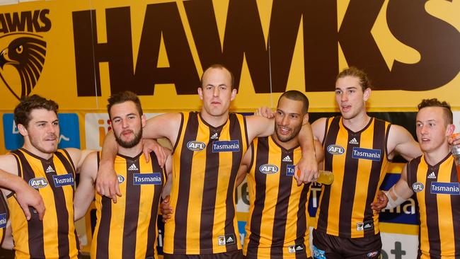 Hawthorn have sung the song plenty of times in recent years.