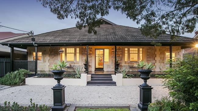A home at 24 Cedar Ave, Glenunga will be auctioned on Saturday.