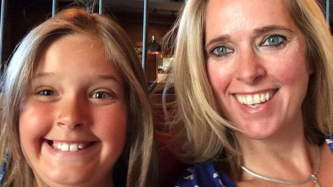 Emma Bowden with her daughter Heather in Sydney, days before their deaths