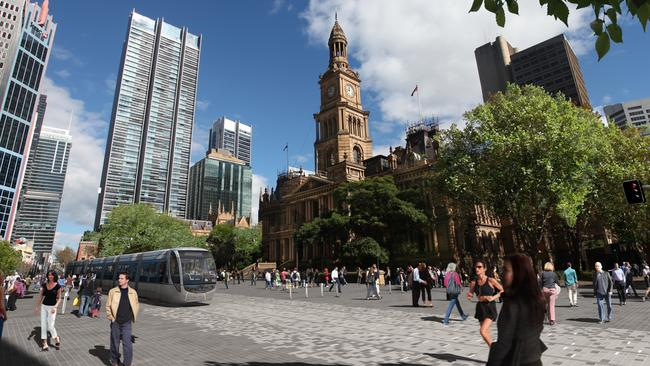 "This is what the City of Sydney wants George St to look like in 2020. They want to make it into a ""truly 24-hour"" boulevard."