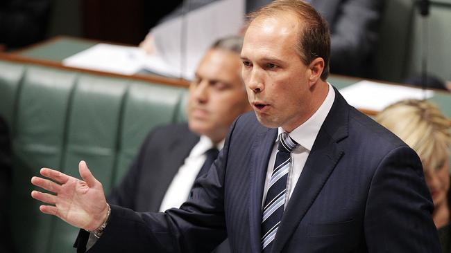 Room to move ... Health Minister Peter Dutton flags more exemptions for the $7 GP fee. Picture: Getty