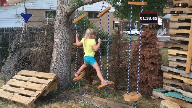The Best DIY Backyard Ninja Warrior Courses1:16