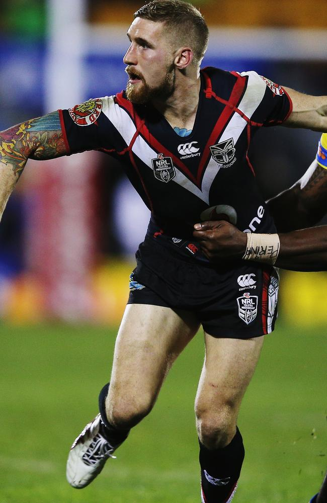 Sam Tomkins had his best performance for the Warriors on Saturday. Pic: Hannah Peters/Getty Images