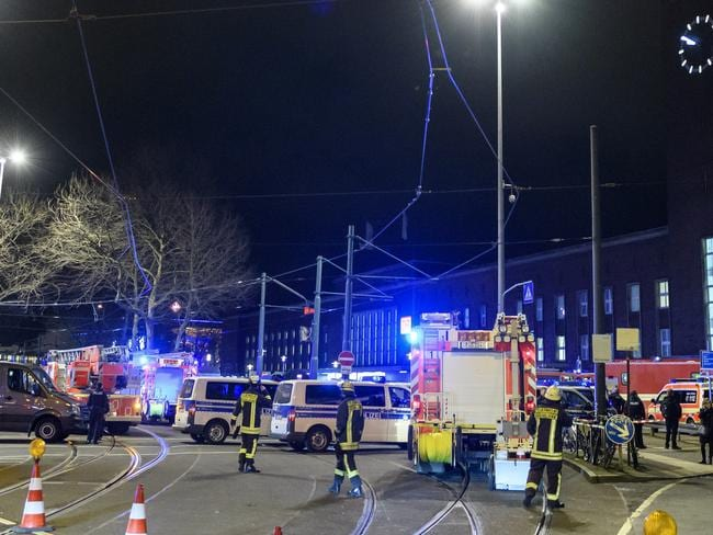 Up to five people were injured in the attack. Picture: Alexander Scheuber/Getty Images.
