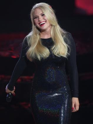 I am collaboration ... The Voice winner Anja Nissen.
